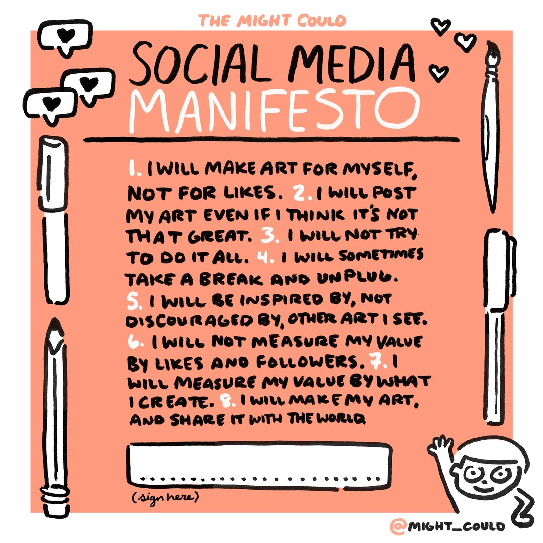 Social Media for Creatives: A Manifesto Prototypr