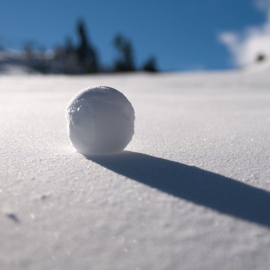 A Snowball Rolling Down a Hill
