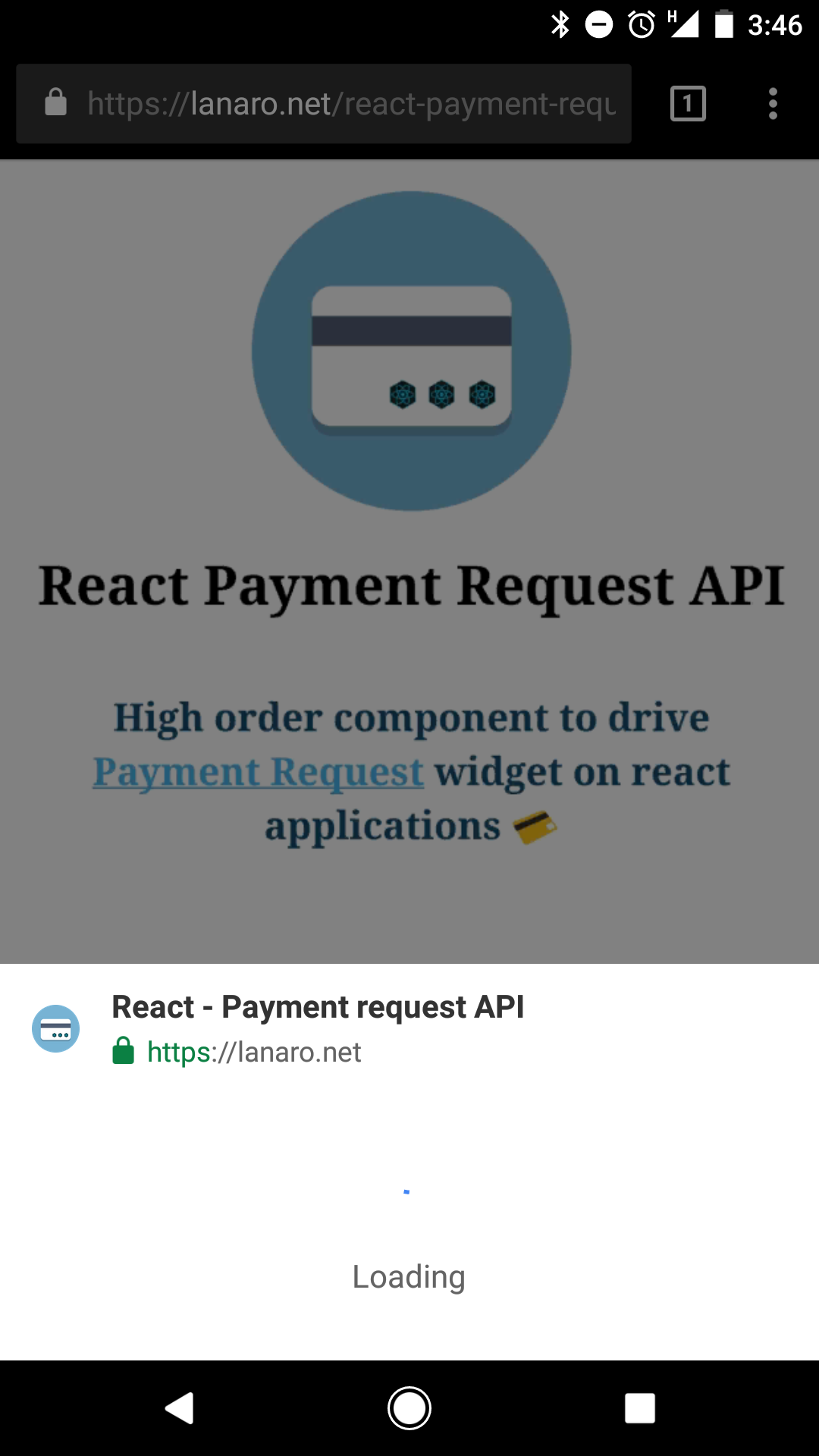 Payment request API with React - codeburst