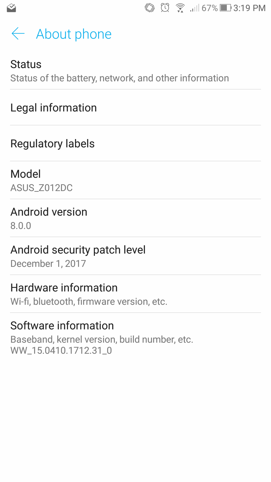 Asus Zenfone 3 (ZE552KL) — Android Oreo Update Review