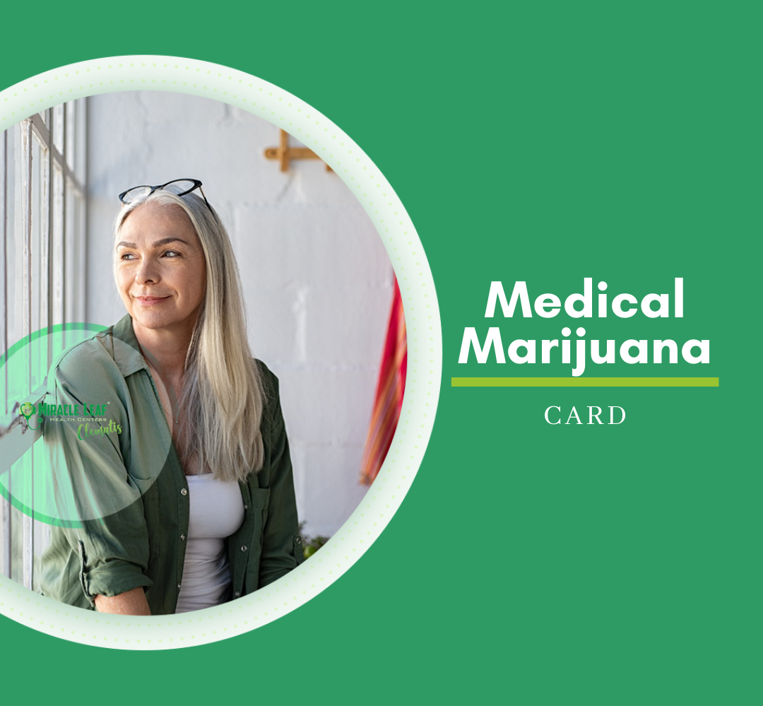 Start the process getting your medical marijuana card at Miracle Leaf in West Palm Beach, FL.