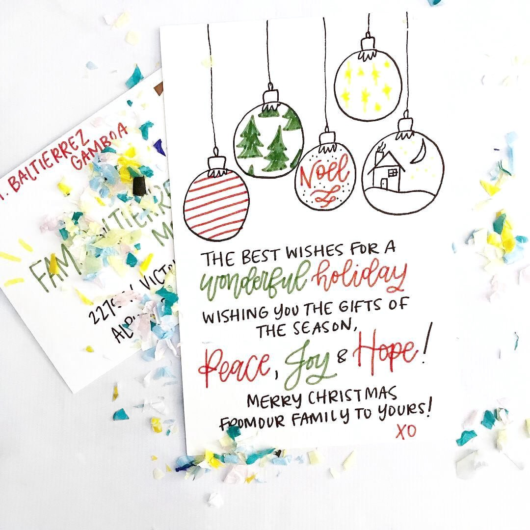 What To Write In Your Holiday Cards By Punkpost Punkpost Medium