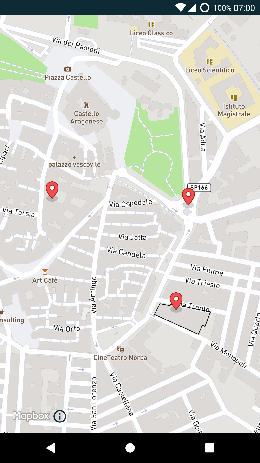 Render a GeoJson layer with Google Maps, OSM or Mapbox on