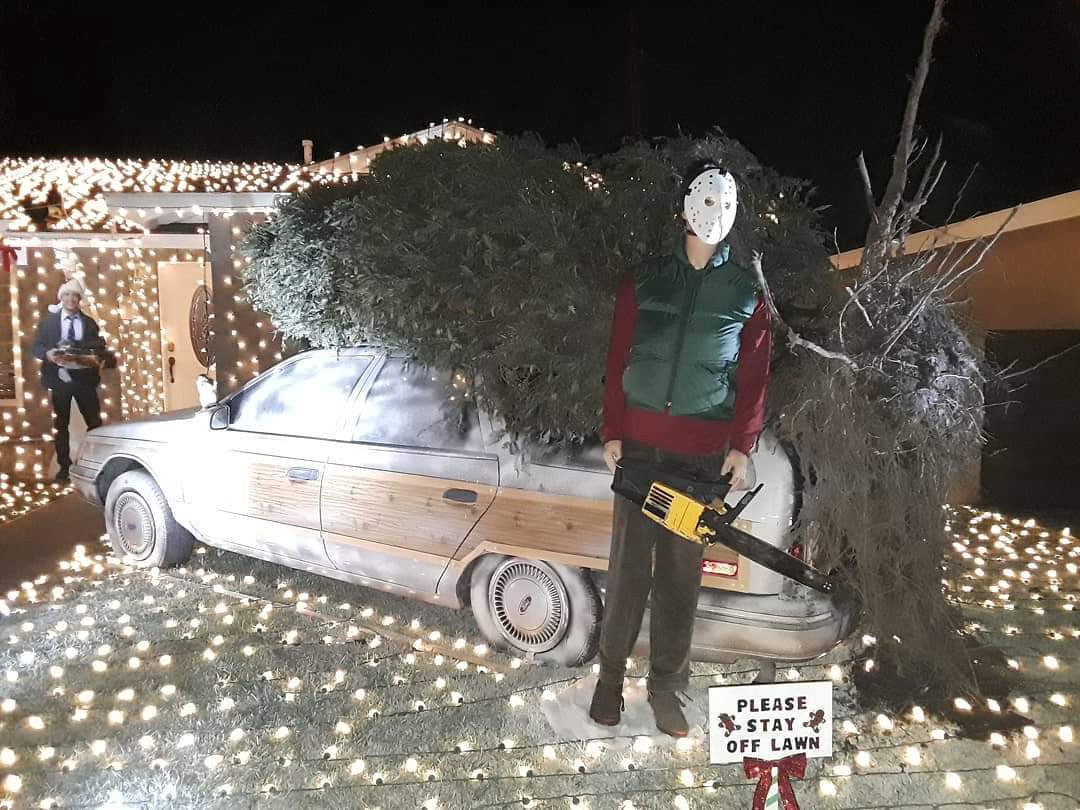 Christmas Vacation House Lights.The Clark W Griswold Of La Mirada California Ewe Medium