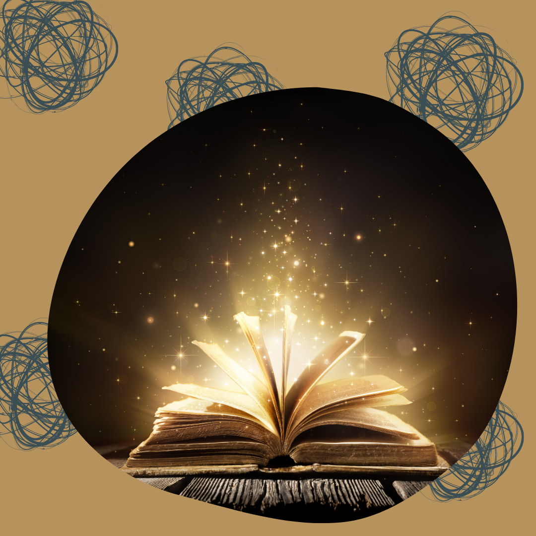 Image of an open book with glowing lights coming out of it. Cover image for How to Land a Book Deal.