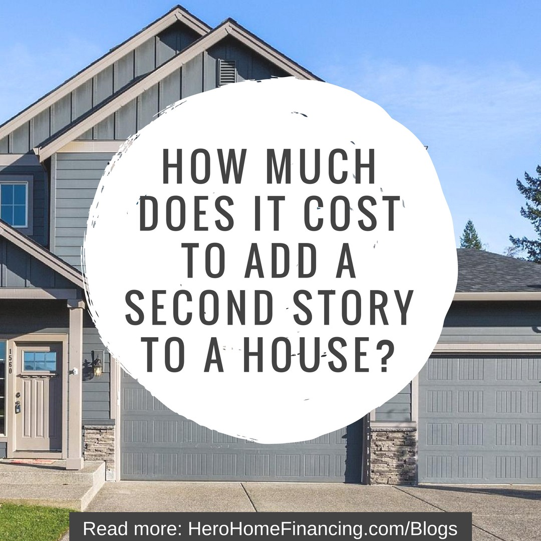 Cost To Add A Second Story House