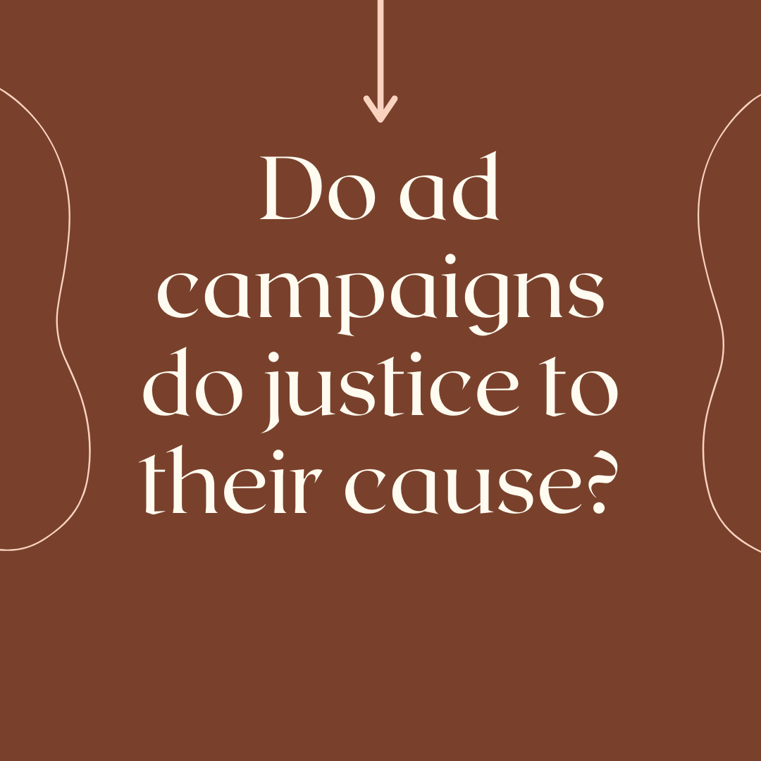 Ad campaigns often are wannabe, purpose washing and sometimes just fluff.