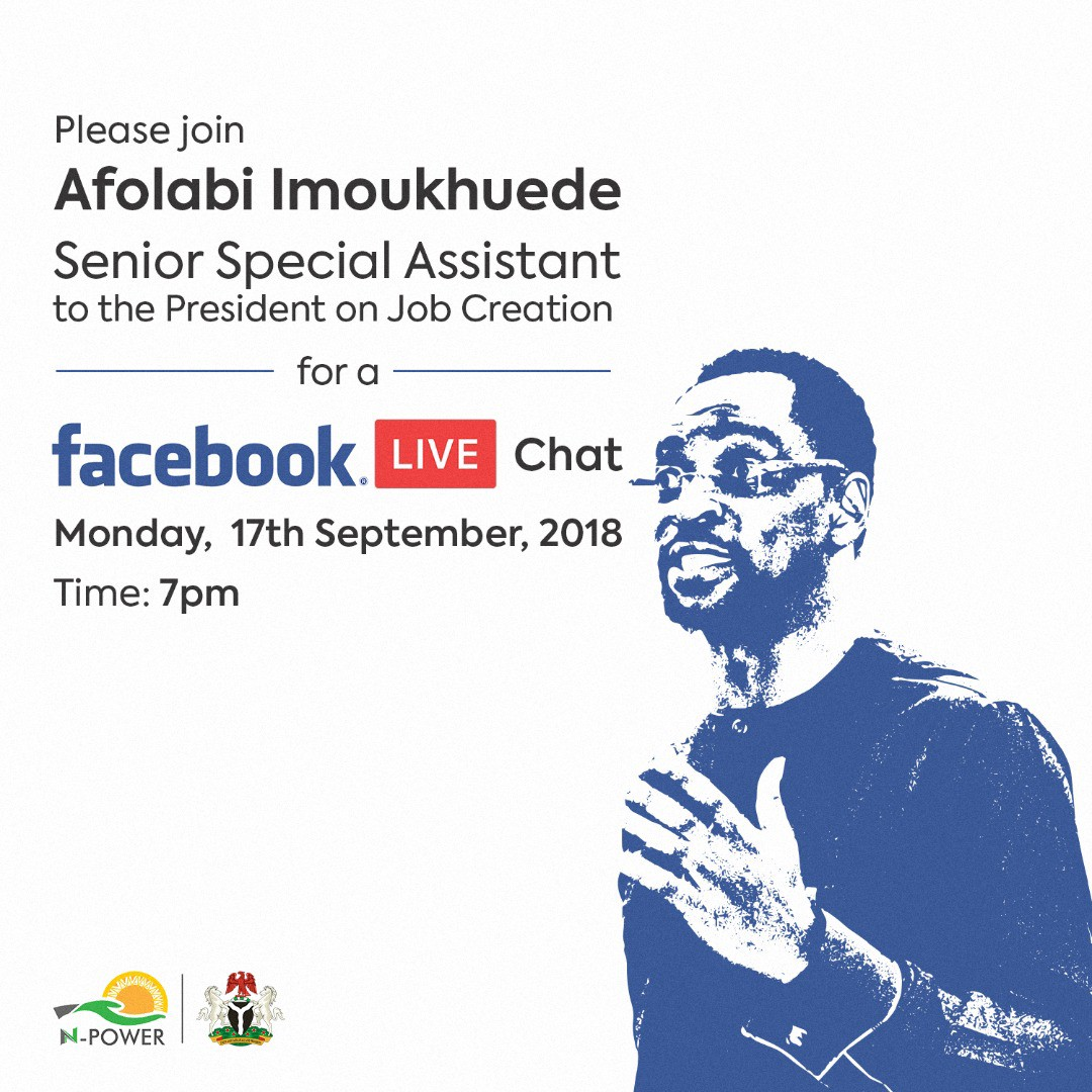 Transcribed version of the Facebook LIVE chat with Afolabi