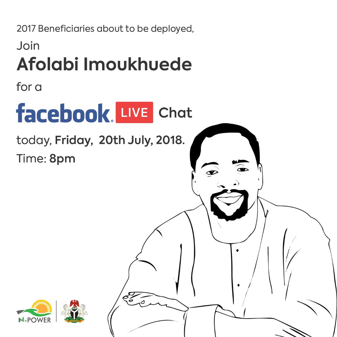 Transcribed Facebook LIVE chat with Afolabi Imoukhuede