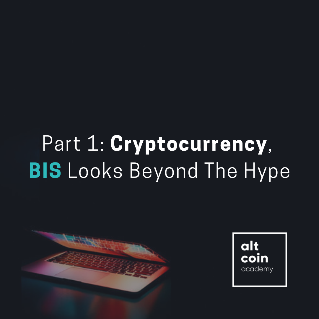 Bis report on cryptocurrency