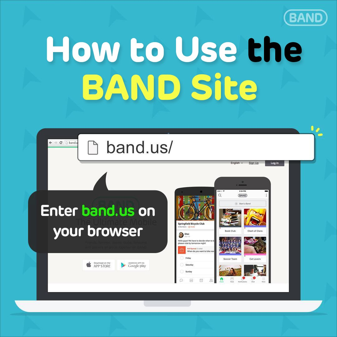 How to Use BAND App for Desktop - BAND for groups