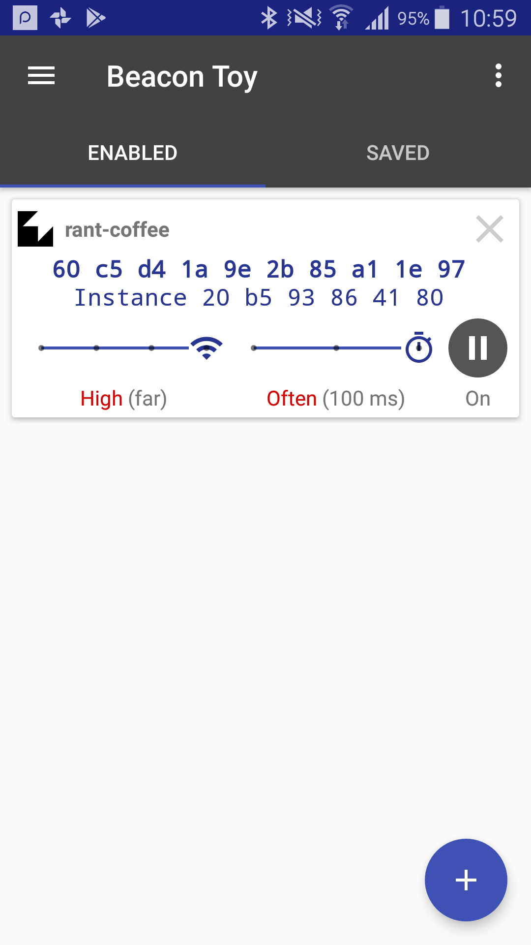 Coffee Hunter: Playing with Eddystone Beacons in an Android App