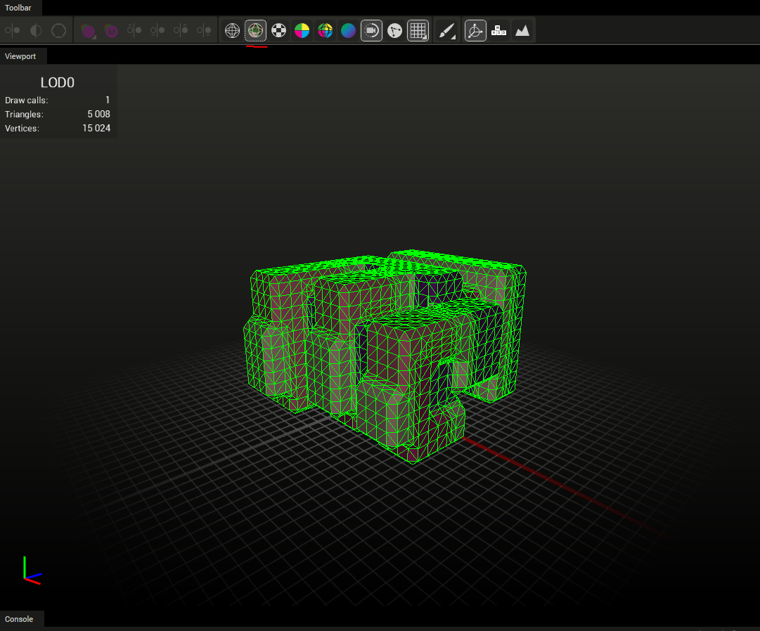 Converting MagicaVoxels Marching Cube for your game