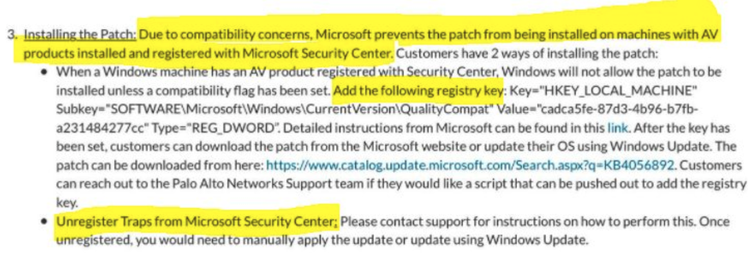 Important information about Microsoft Meltdown CPU security