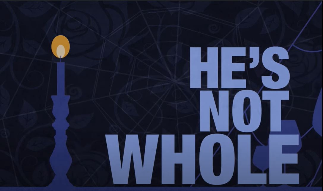 """""""He´s not Whole"""" a quote from Disney`s Be Our Guest about the importance of doing what we are meant to do."""