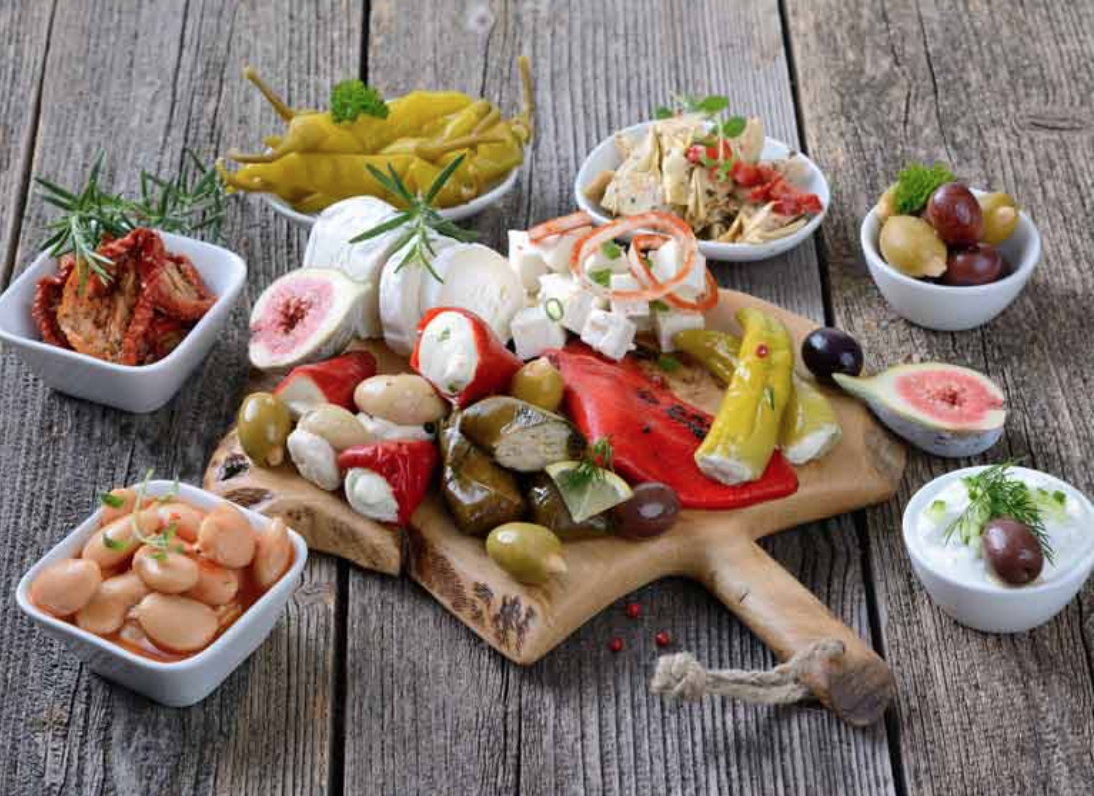 What does the Mediterranean diet consist of? Well, we've got