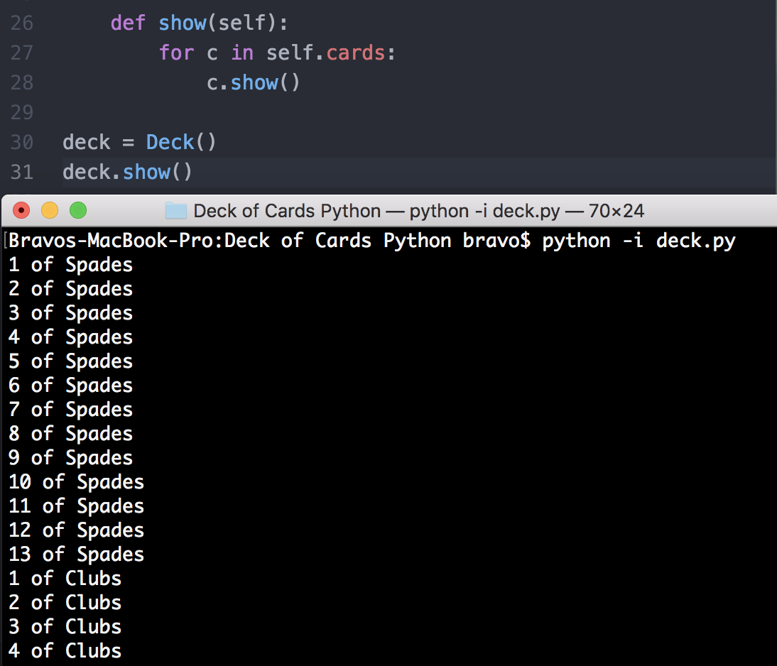 Build a Deck of Cards with OO Python - Anthony Tapias - Medium