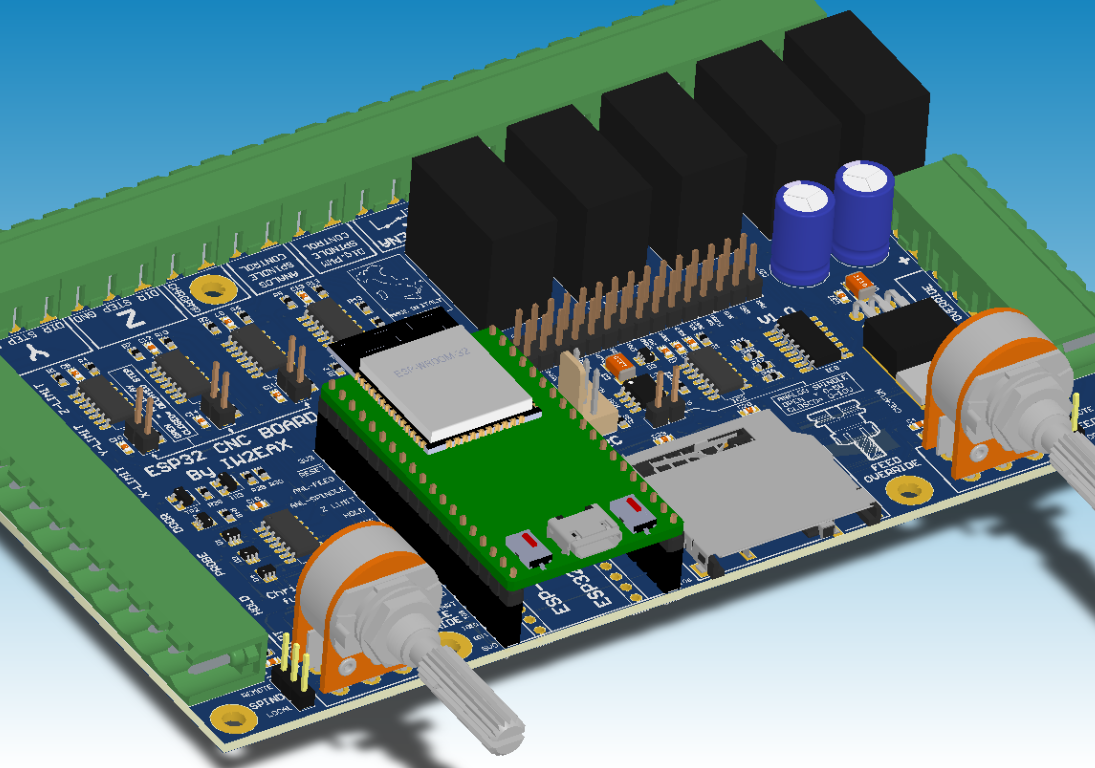 Utilizing the ESP32's Processing Power to Run Grbl CNC Software
