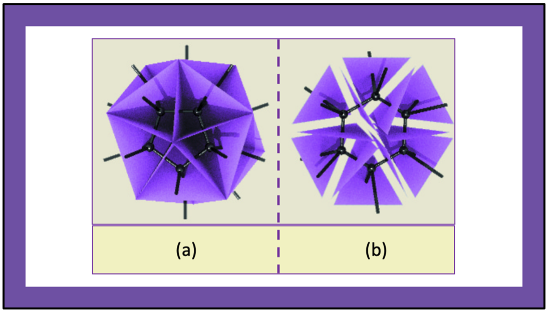 Each node in a spin network determines a cell, or an elementary grain of space.