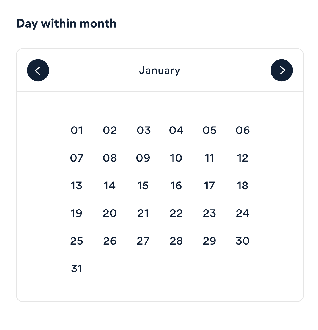 Rethinking the date picker UI - UX Collective