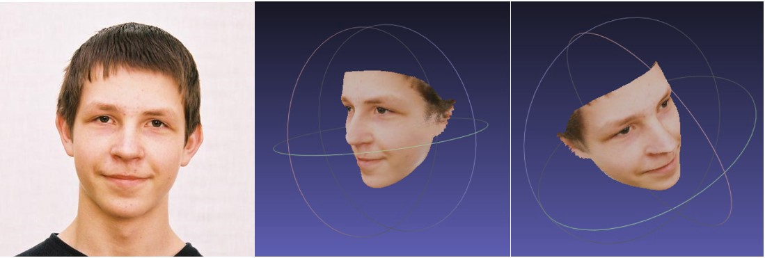 3D Face Reconstruction with Position Map Regression Networks