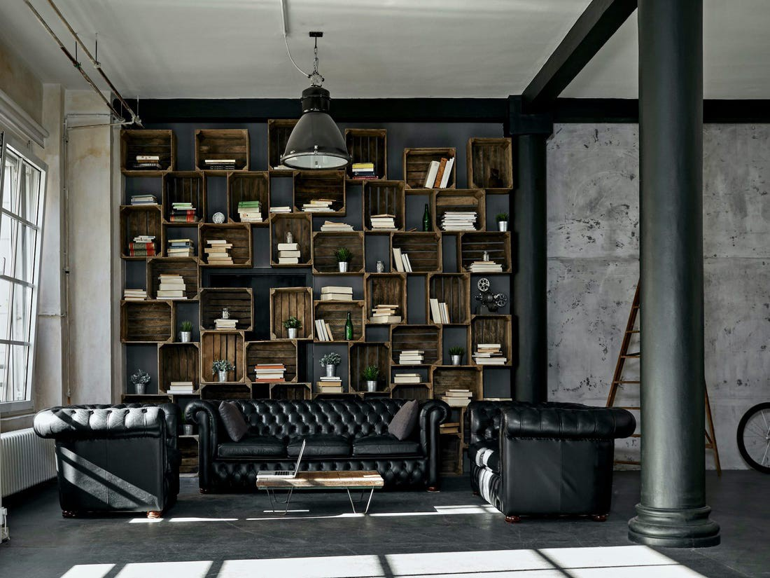 Mixing wood and metal in the home is becoming more trendy.