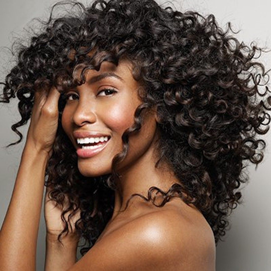 Curly Frontal extension