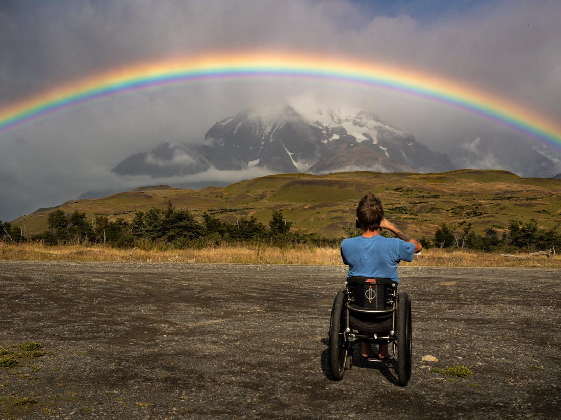 Kirk Williams in Torres del Paine, Chile, in 2020.