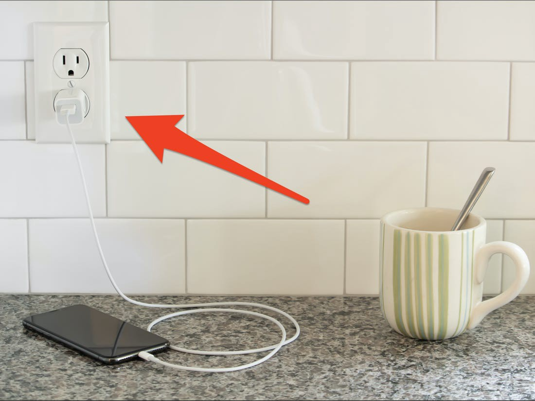 Extra outlets are useful for juggling several kitchen appliances.