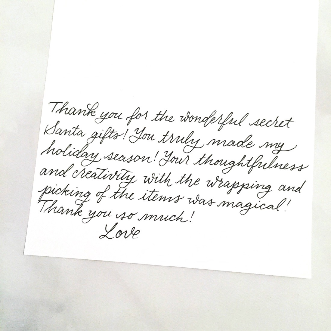 Sample Christmas Letters To Family And Friends.What To Write In Your Holiday Thank You Cards Punkpost