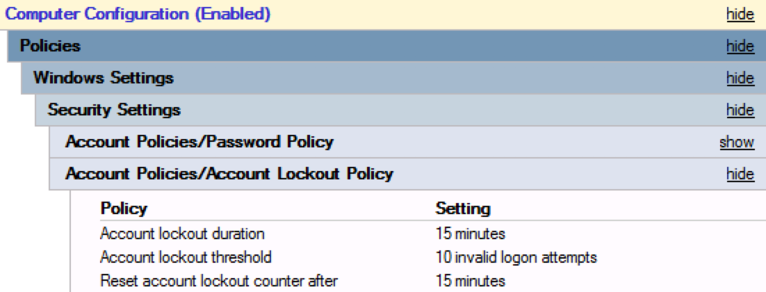 ADFS Extranet Lockout Protection - DACIMM