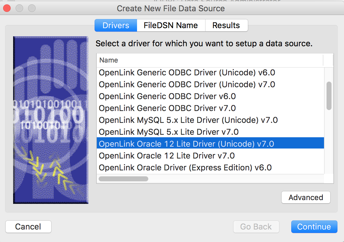 New 32- and 64-Bit ODBC SDK & Runtime for Mac OS X