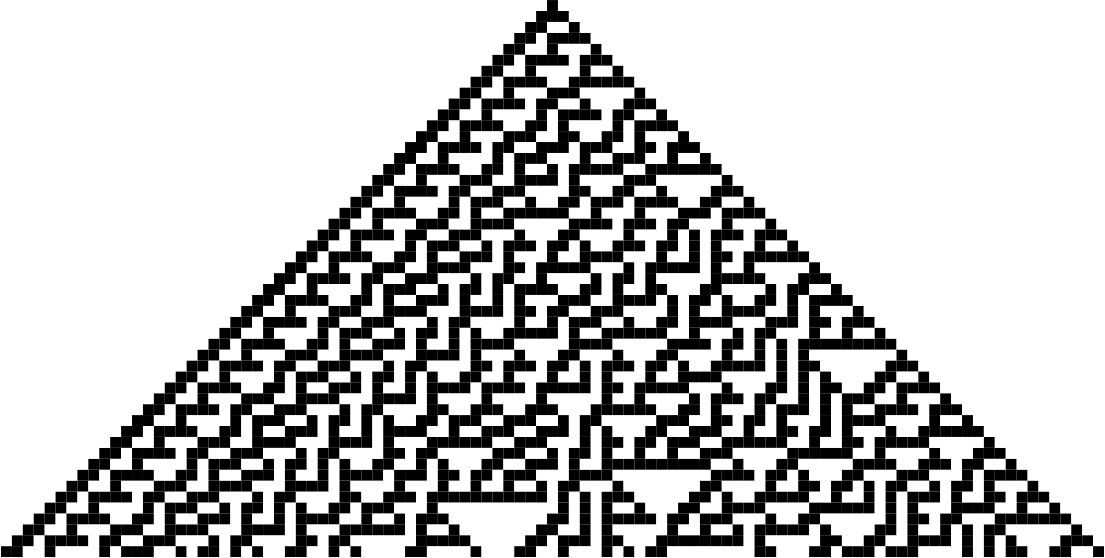How to simulate elementary cellular automaton on Logisim