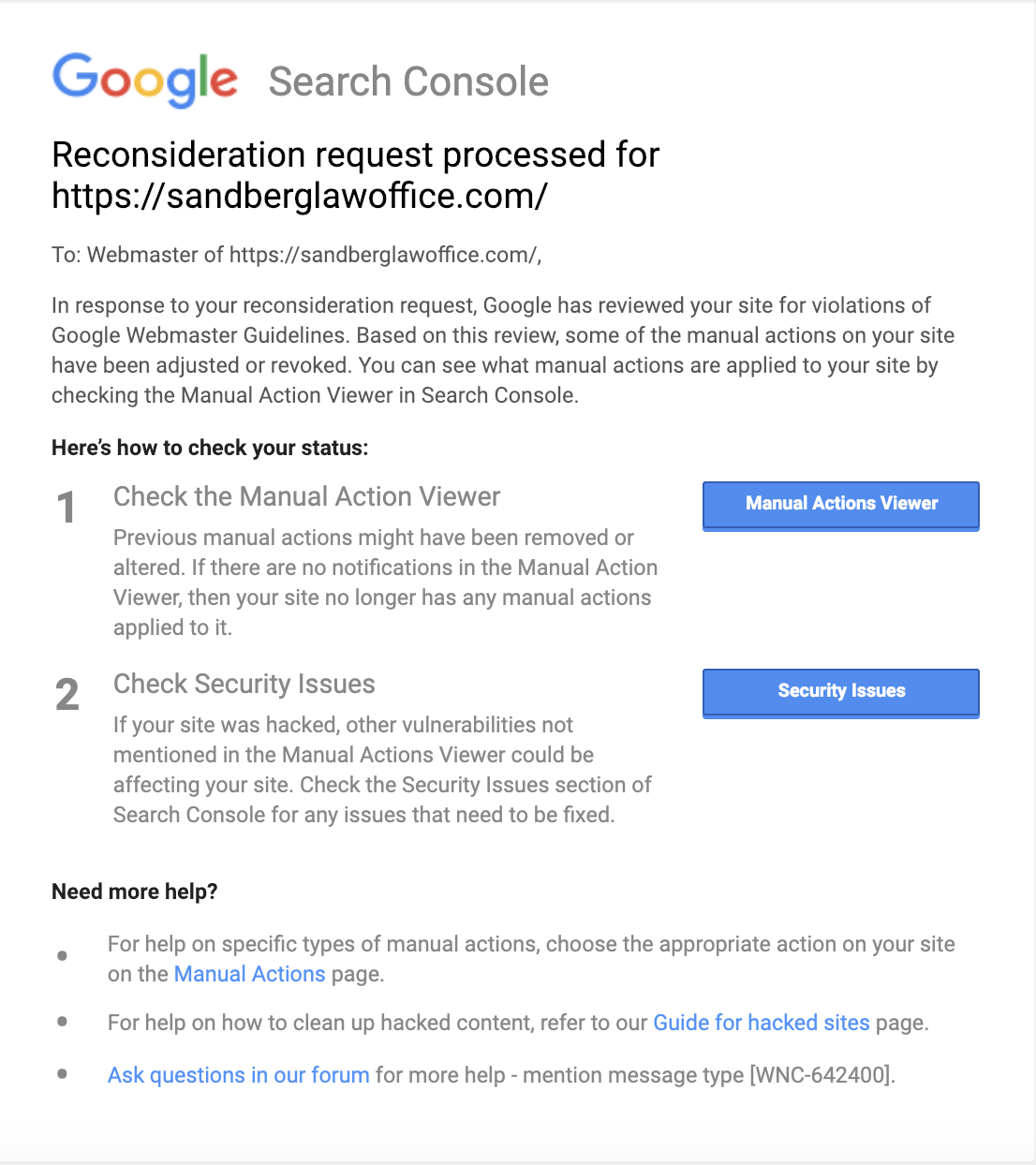 How To Fix This Site May Be Hacked Message On Google: Data