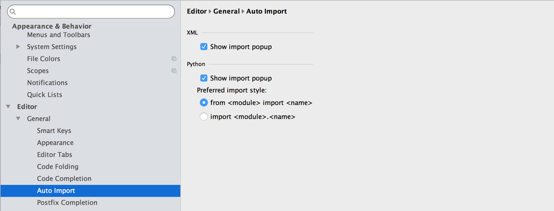 Automatically import Python modules in PyCharm as you code