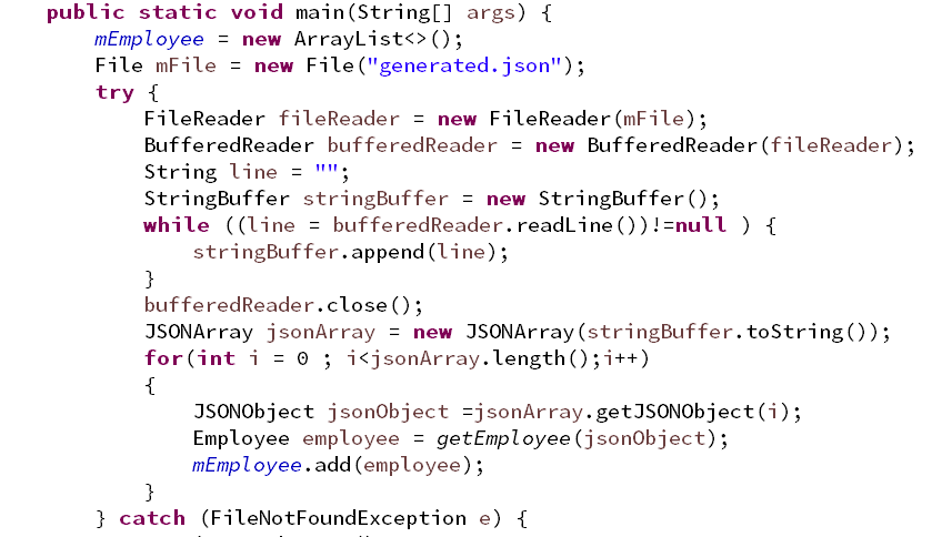 Java] Read JSON Data File in Project - 陳立翰(LiHan Chen