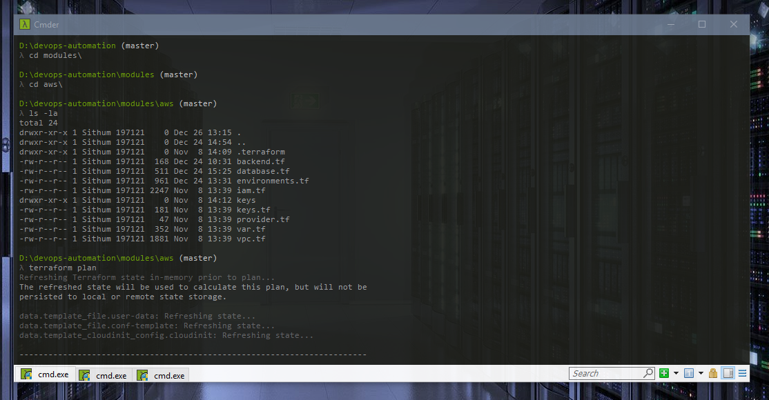 Cmder - The best way to run Linux, Shell, Bash commands and