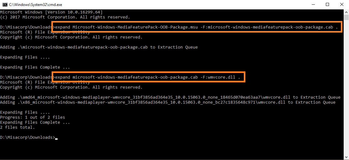 Fixing 'wmvcore dll is missing' the Reliable Way - Misa