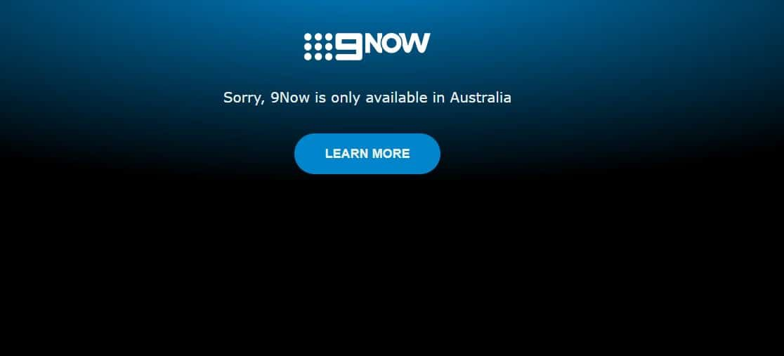 Sorry, 9Now is only available in Australia
