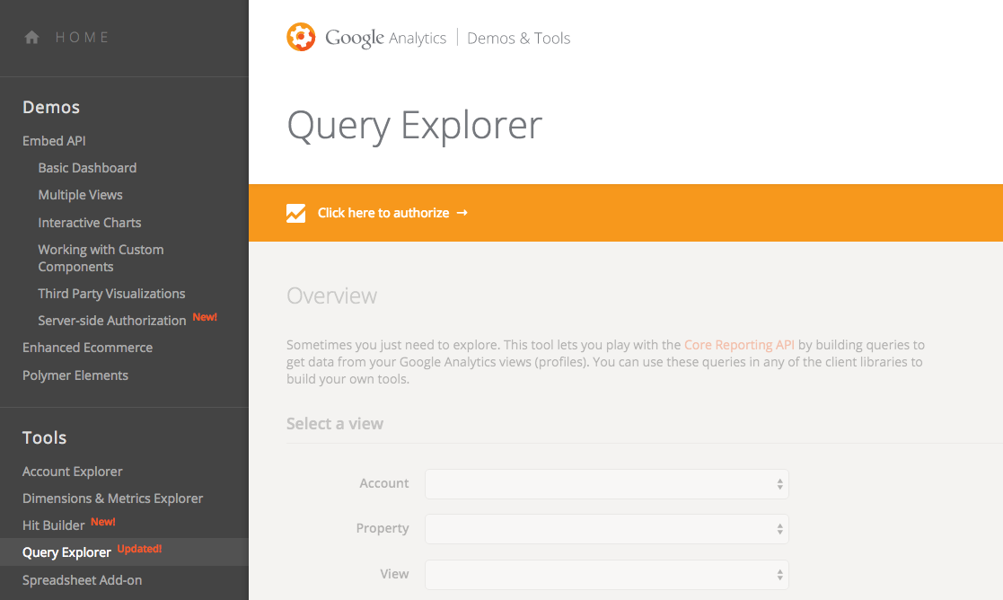 Measure search Analytics & performance with Google Analytics
