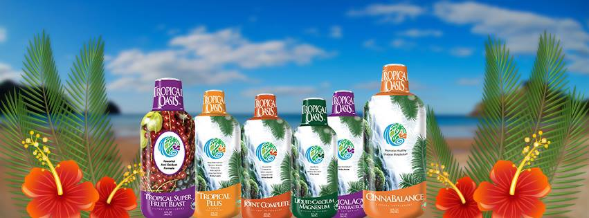 Tropical Oasis Liquid Vitamins and Minerals - Tropical Oasis
