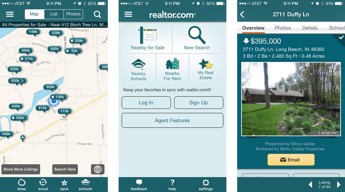 What Technology Stack do Zillow, Redfin and Realtor com Use