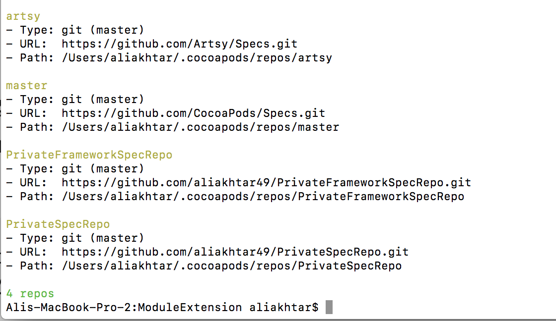 Distribute Framework Using Private Cocoapods (Part 1)
