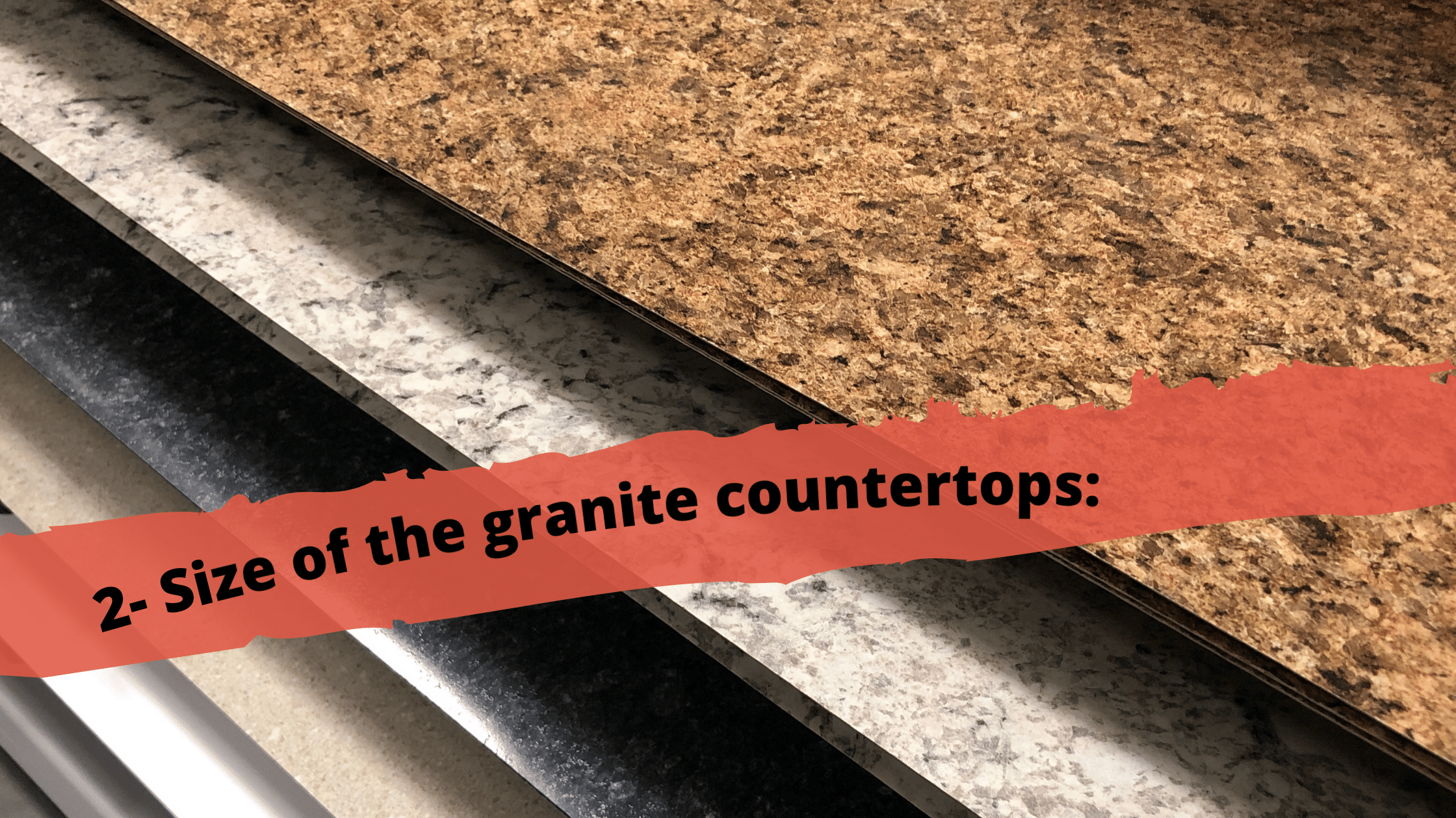 Size of Countertops