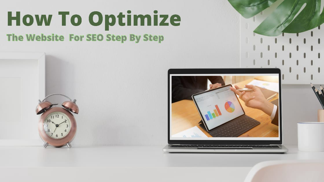 How to optimize the website for SEO step by step