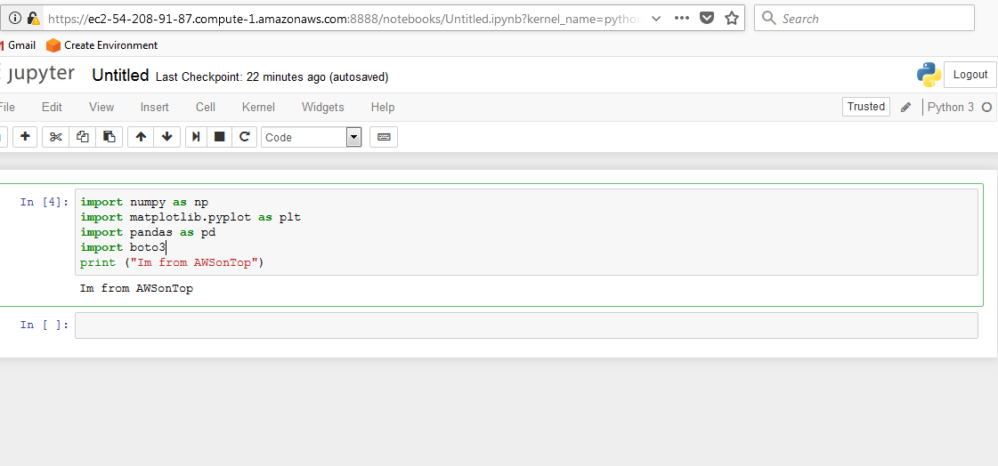 How to Install Jupyter Notebook on AWS EC2 Instance for