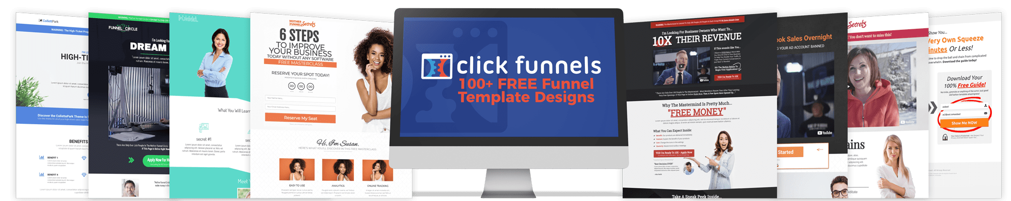 100+ Funnel Templates