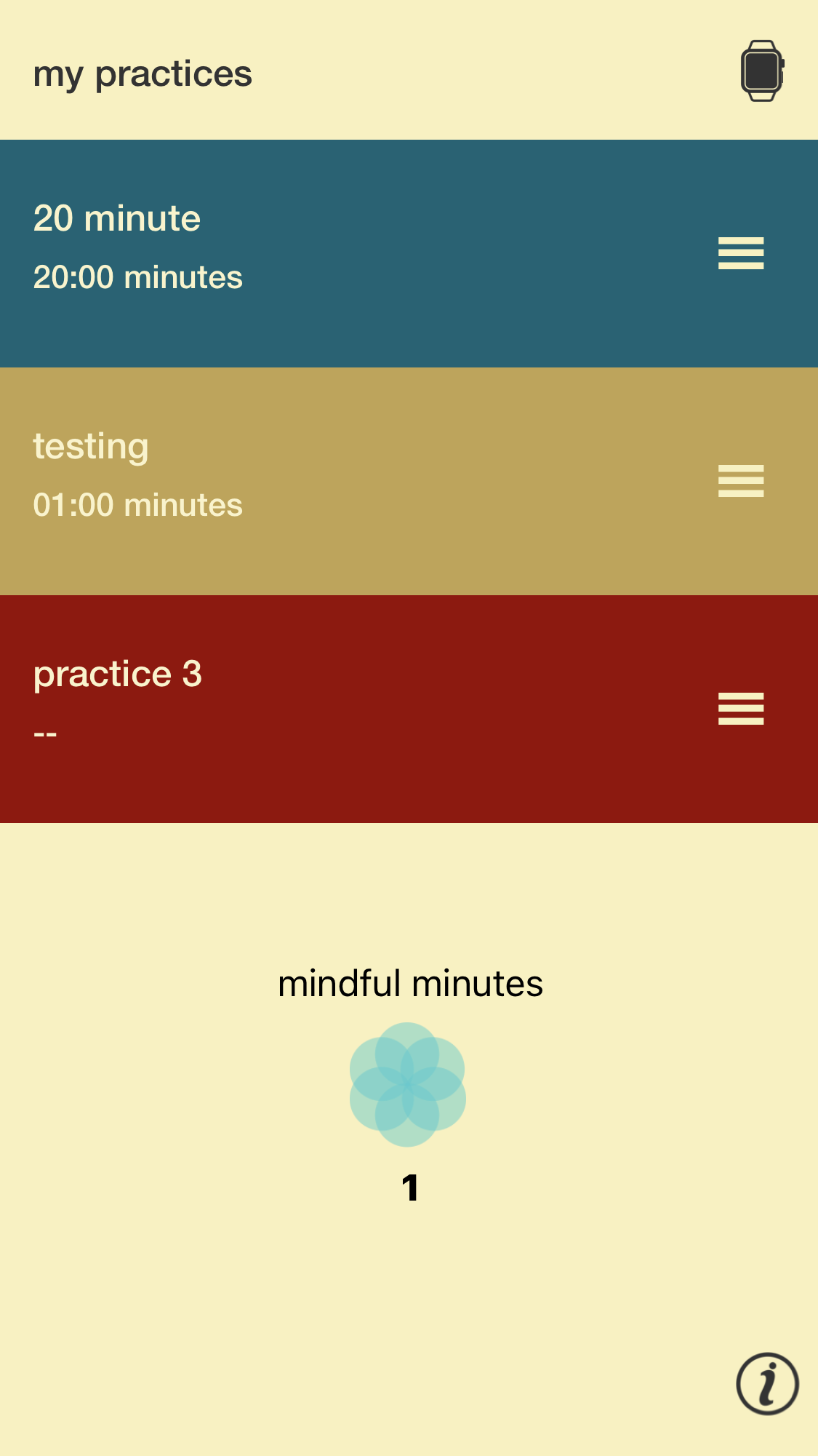 Meditation timer apps for the Apple Watch tested but found