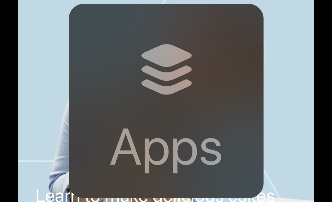Screenshot of the Large Content Viewer for the Apps tab in the App Store app.