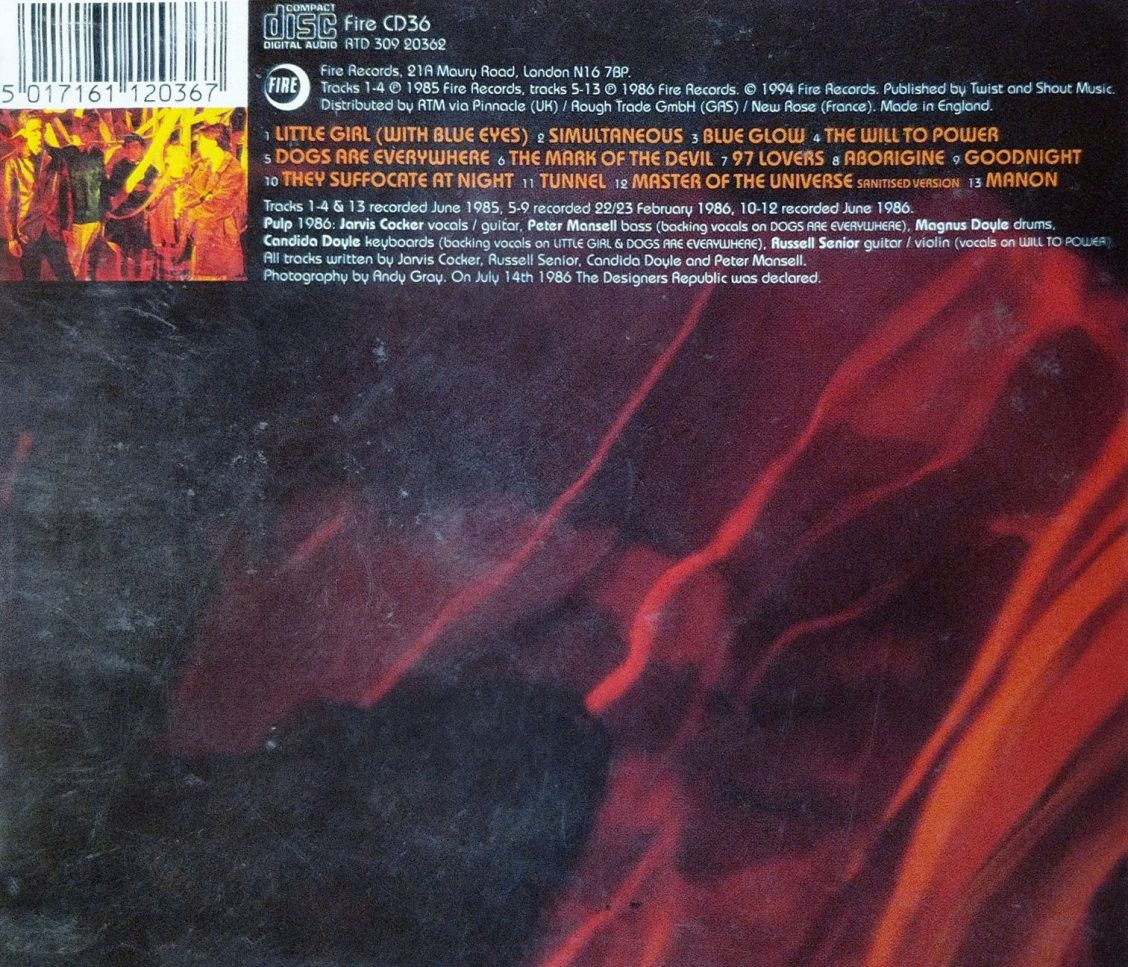 Masters of the Universe rear sleeve